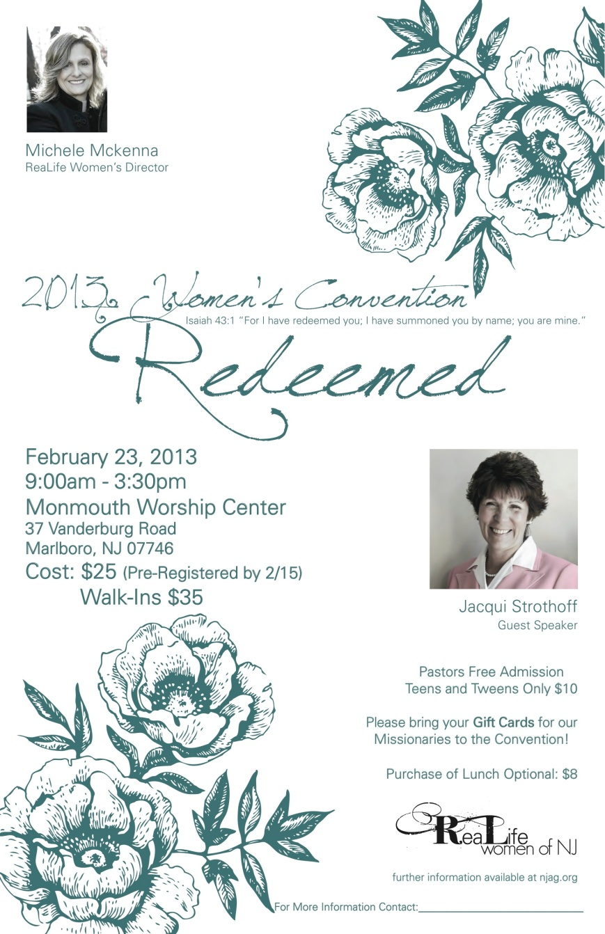 2013 Women's Convention - Redeemed