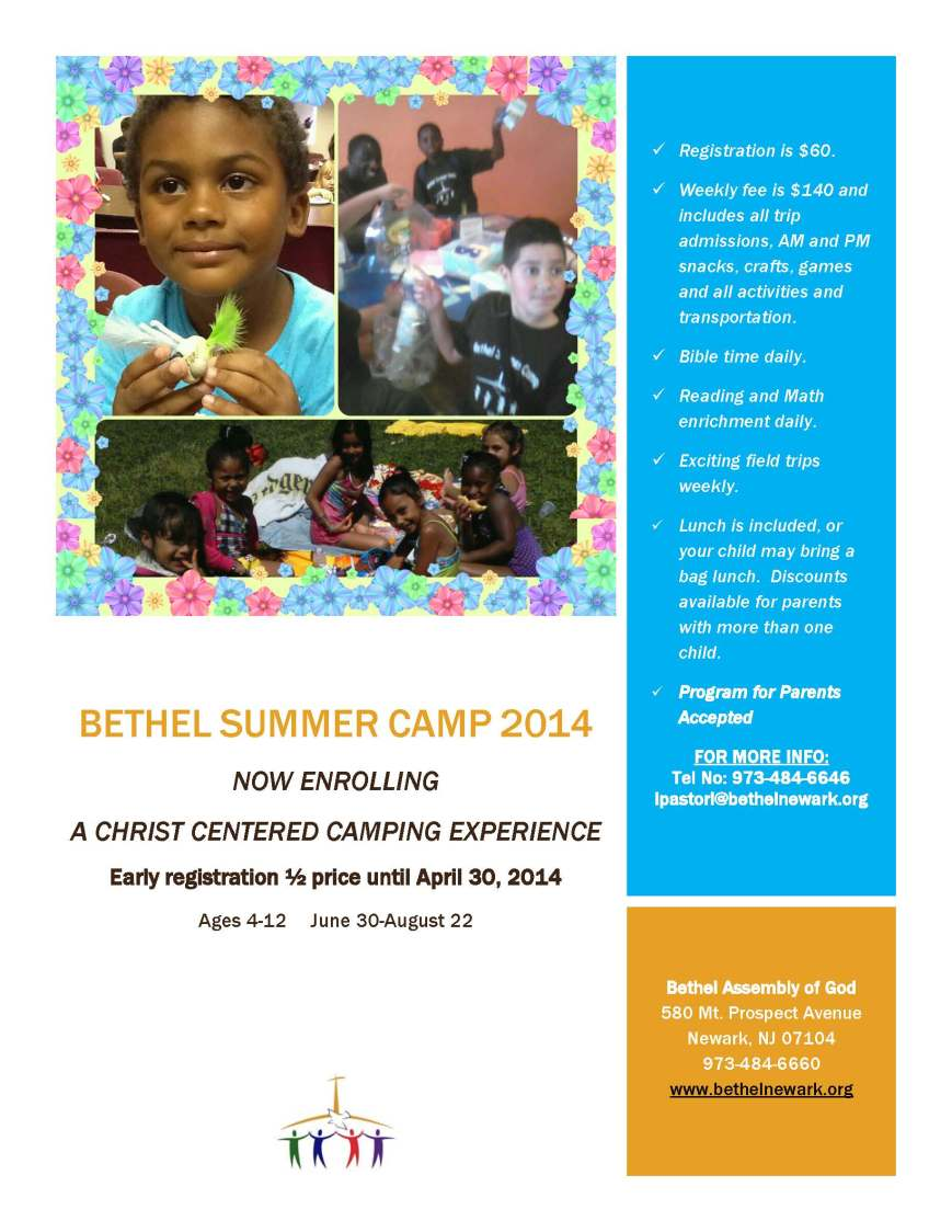 Bethel Summer Camp 2014!